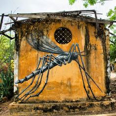 By Roa for Wide Open Walls - Located in Gambia