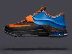 d23992a5eaf3 KD 7 Option VII ID Okc Away Photo Blue Total Orange Black