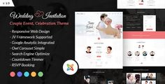 Wedding Invitation - Couple Event and Celebration Joomla Theme ⠀ Wedding Invitation – Couple Event and Celebration Joomla Theme Wedding Invitation Multipurpose and clean Joomla Theme with One page Index + header style. Great Design for wedding invitation or enga... ⠀ # #bridal #bride #ceremony #cmsthemes #couple #engagement #groom #joomla #love #marriage #rsvp #savethedate #themeforest #webstrot #weddinginvitation #weddinglocation #weddingplanner #responsive #wedding Joomla Templates, Newsletter Templates, First Web Page, Theme Forest, Engineering Companies, Wedding Reception Food, Wedding Countdown, Wedding Locations, Wedding Venues