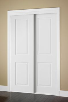 Colonial Elegance® Cambridge X Framed Raised Panels Sliding Door