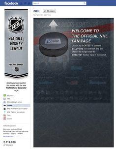 Tab Facebook: NHL