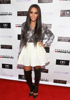 Angela Simmons Launches New Site
