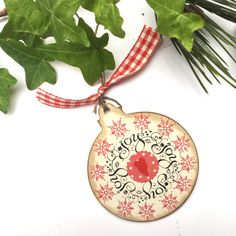 A personal favourite from my Etsy shop https://www.etsy.com/uk/listing/248451466/christmas-tree-decor-festive-bauble