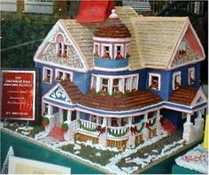Victorian Gingerbread House by Susan Palmer