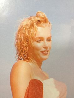 Rare vintage colour Marilyn Monroe