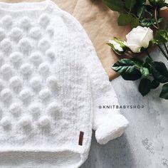 Crochet Baby Clothes, Crochet Girls, Crochet For Kids, Knit Crochet, Easy Knitting Patterns, Knitting For Kids, Baby Knitting, Knit Baby Sweaters, Cool Kids