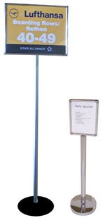6' Tall Sign Posts