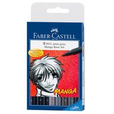 Faber-Castell® PITT® Artist Pen Manga Basic Set