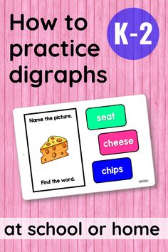 Digital Boom Learning Cards are a fun and EASY way to practice important phonics skills! This set targets /ch/ digraphs in beginning and ending positions. Students will use text and picture cues to tackle this phonics skill.