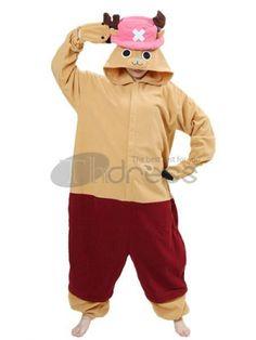 One Pice Cosplay-vivid one piece pleuche luffy chopper kigurumi costumes One Piece Chopper, Video Game Costumes, Cosplay Costumes For Sale, One Piece Cosplay, Animal Pajamas, Onesie Pajamas, Animal Costumes