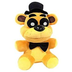 GBP - 2018 Lovely Fnaf Five Nights At Freddy's Collector Golden Freddy Doll Plush Toys Plush Dolls, Doll Toys, Pet Toys, Kids Toys, Fnaf Crafts, Freddy Toys, Wolf Plush, Best Christmas Toys, Rare Pokemon Cards