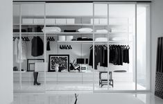Dream walk-in wardrobe, boasting in both functionality & style, Ubik from Poliform. Photo 1.
