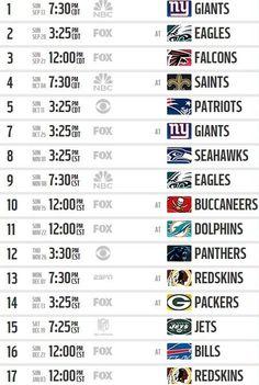 2015 Dallas Cowboys Schedule - Dallas Cowboys Schedule 2015 - Dallas Cowboys 2015 Schedule - NFL Schedule 2015 - The Boys Are Back website 2015
