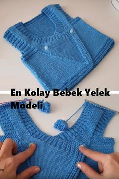Both men # Bebekyeleg of as a baby girl The detailed construction of a pocket-like vest model Knitting Humor, Free Knitting, Knitting Patterns, Crochet Patterns, Baby Blanket Crochet, Crochet Baby, Free Crochet, Knit Crochet, Beige Vests