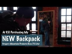 NEW Backpack - Gregory Mountain Products Deva 70 Liter - At REI Shopping - Spirit Forest - S3 -Ep#8 - YouTube Forest Adventure, Grid, Backpack, Mountain, Spirit, Youtube, Fictional Characters, Shopping, Products