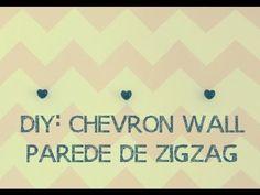 DIY: Parede Zig Zag - Chevron Wall