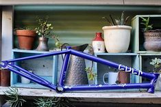 Cult Walsh Frame - Check Out All The Goodies From Cult Including The Fastest Frame On The Market - Cult Walsh Frame, Available Here At Anchor Bmx Located In Melbourne And Shipping Australia Wide Daily. Bmx Frames, Bmx Shop, Bmx Bikes, Bike Parts, Blue, Parts Of Bike