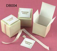 Small White Wedding Gift Boxes