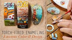 Add captivating color and texture to your designs with artisan enameling techniques.