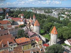 Tallinn's city wall originally had a length of kilometers and comprised 46 wall and gate towers. Large sections of the medieval city wall still stand today including 26 of the defensive towers. Each tower has a name. European Countries, Vatican City, Macedonia, Bosnia And Herzegovina, Albania, Montenegro, Croatia, Finland, Middle Ages