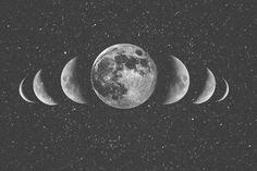 fases de la luna arte - Buscar con Google