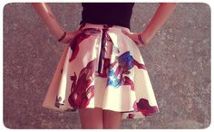 How to make a Flare skirt Pattern / Patronnages de Jupe à Godets We all deserve a SUPER HERO!