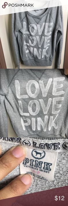 ❗️ VS PINK Sweater VS PINK sweater. Great condition , size small. The neck line is a bit stretched out but still wearable. Can even wear as an off the shoulder sweater!   *Offers through the offer button!  *You will receive item as is.   *Any questions leave down below!   Thank you for your interest 💕 PINK Victoria's Secret Sweaters Crew & Scoop Necks