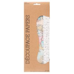 Get Map & Script Decoupage Papers online or find other Paper Mache products from HobbyLobby.com