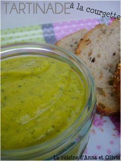 Vegan zucchini spread/dip.