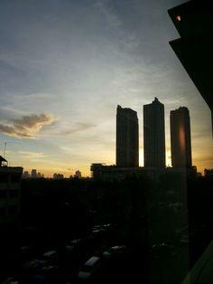 Jakarta sunset #latepost