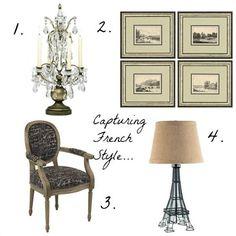 French design inspiration | #decoratingideas #international #frenchstyle
