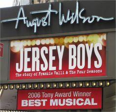 Jersey Boys Tickets - Get Broadway tickets of Jersey Boys Show at cheap price from askaticket Musical Tickets, Broadway Tickets, Broadway Theatre, Prince Edward Theatre, Bob Gaudio, August Wilson, Tony Award Winners, Frankie Valli