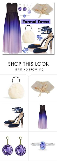 """""""Formal Dress"""" by sunny-chen-2 ❤ liked on Polyvore featuring City Chic, Color My Life and Bling Jewelry"""