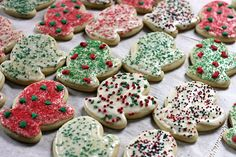 These are simply the best sugar cookie ever. They're a signature recipe for every occasion. The texture and flavor can't be beat.