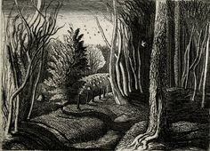 Graham Sutherland - Wood Interior, 1928