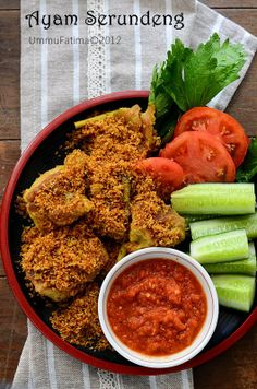 Simply Cooking and Baking...: Ayam Goreng Serundeng
