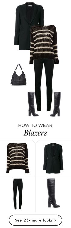 """""""Unbenannt #9441"""" by pretty-girl-in-fashion on Polyvore featuring Yves Saint Laurent and yvessaintlaurent"""