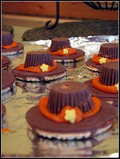 pilgrim cookies - easy for kids!