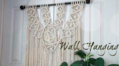 HOW TO: DIY Macrame Wall Hanging