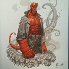 Hellboy by Paolo Rivera