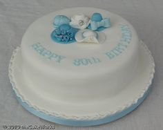 80th birthday cakes for women designs | 80th+birthday+cake+ideas+for+women