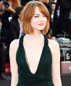 New Hair 2014: See Celebrity Hair Makeovers! - Emma Stone from #InStyle