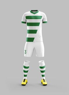 Soccer kit designed for amateur soccer teams in the sport season 2014-2015.