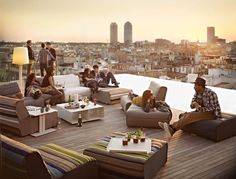 las calles de barcelona: Top 10 Rooftop Terraces in Barcelona