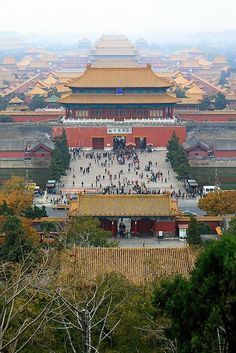 China. Forbidden City, Beijing