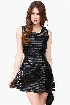 #Black #Leather #Dress #short #fashion