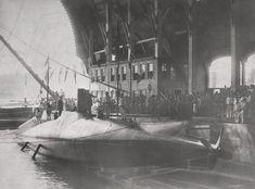 Osmanlı Abdülhamid Denizaltısı, Dünyada Hedefe Torpido Atan İlk Denizaltı, Taşkızak Tersanesi, İstanbul, 1886