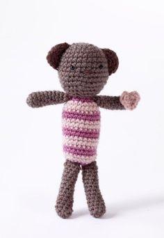 Amigurumi Heartfelt Bear Pattern (Crochet)