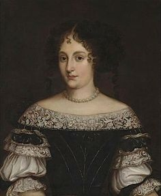 ca. 1670 Hortense Mancini, Duchesse Mazarin by circle of Jacob Ferdinand Voet (Roy Precious) X2