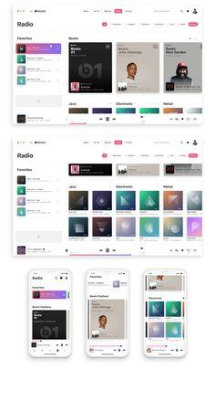 New Music Apple Screenshots 64 Ideas Design Ios, Interface Design, User Interface, Flat Design, Design Thinking, Apple Web, Motion Design, Intranet Design, Design Innovation